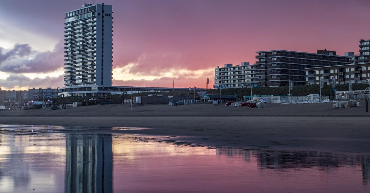 Zandvoort-Strand-Immobilien am Strand