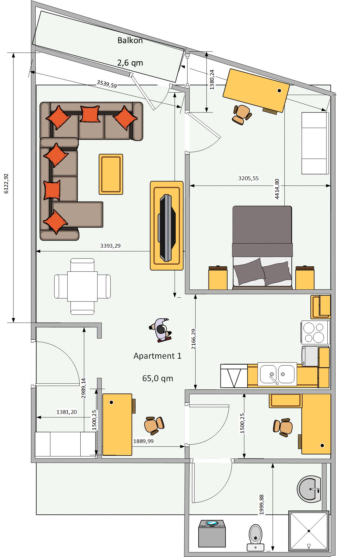 Grundriss_Apartment Nr.1_Tante Emma bei SRTI GmbH